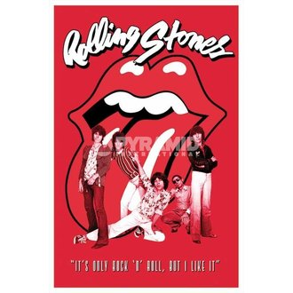 Poster Rolling Stones - It´s Only Rock N Roll - PYRAMID POSTERS, PYRAMID POSTERS, Rolling Stones