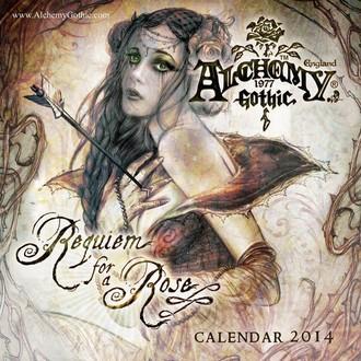 Kalender  2014 Alchemy - PYRAMID POSTERS, ALCHEMY GOTHIC