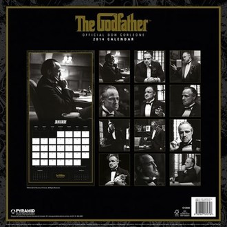 Kalender  2014 Godfather - PYRAMID POSTERS, PYRAMID POSTERS