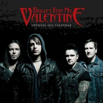 Kalender  2014 Bullet For My Valentine - PYRAMID POSTERS, PYRAMID POSTERS, Bullet For my Valentine