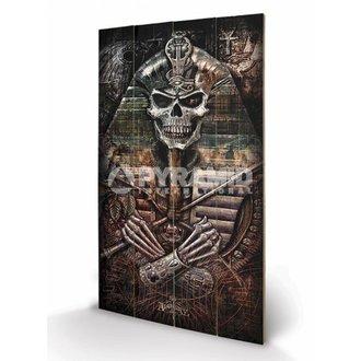 Holzbild  Alchemy - Thoth Codex - PYRAMID POSTERS, ALCHEMY GOTHIC