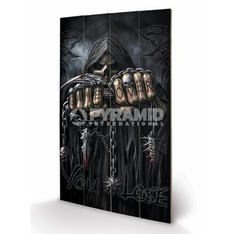 Holzbild Spiral - Game Over - Reaper - PYRAMID POSTERS, SPIRAL