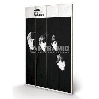 Holzbild The Beatles - With The Beatles - PYRAMID POSTERS, PYRAMID POSTERS, Beatles