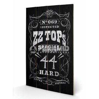 Holzbild ZZ-Top - Special Batch - PYRAMID POSTERS