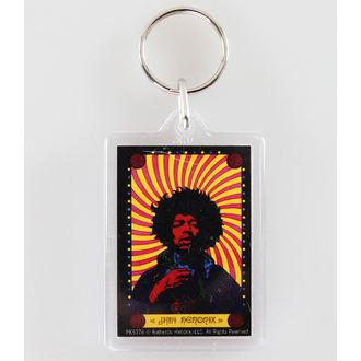 Schlüsselanhänger  Jimi Hendrix - Pyschedelic - PYRAMID POSTERS, PYRAMID POSTERS, Jimi Hendrix