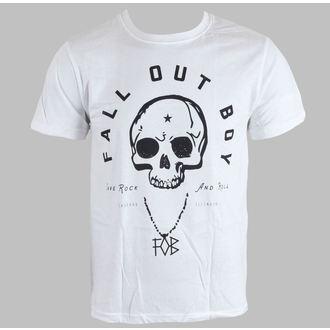 Herren T-Shirt   Fall Out Boy - Headdress - White - LIVE NATION, LIVE NATION, Fall Out Boy
