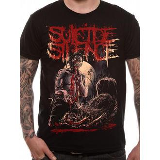 Herren T-Shirt   Suicide Silence - Grave - Black - LIVE NATION, LIVE NATION, Suicide Silence