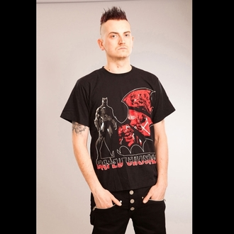 Herren T-Shirt   POIZEN INDUSTRIES - Crusader - Batman - Black
