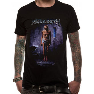 Herren T-Shirt   Megadeth - Countdown 2 - LIVE NATION, PLASTIC HEAD, Megadeth
