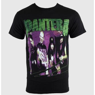 Herren T-Shirt   Pantera - Group Sketch - Blk, BRAVADO, Pantera