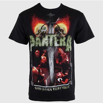 Herren T-Shirt   Pantera - Lightning Skulls - BRAVADO, BRAVADO, Pantera