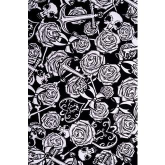 Damen Kleid HELL BUNNY - Avalon Mini - BLK/WHT