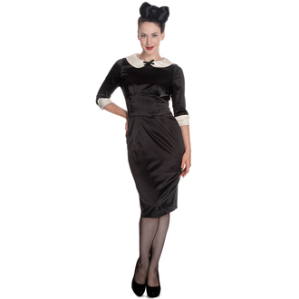 Damen Kleid HELL BUNNY - Moneypenny - Blk/Ivory