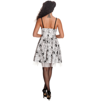 Damen Kleid HELL BUNNY - Mary Jane - WHT - 4288