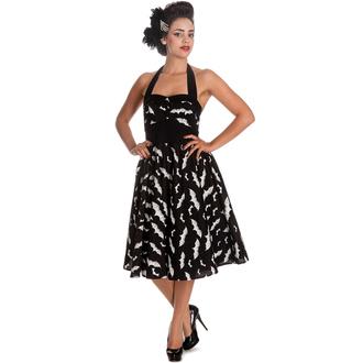 Damen Kleid HELL BUNNY - Bat 50´s - BLK/WHT, HELL BUNNY