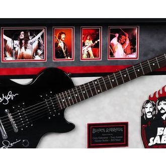 unterzeichnete Gitarre BLACK SABBATH, ANTIQUITIES CALIFORNIA, Black Sabbath