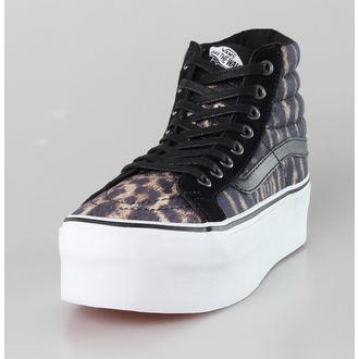 Damen Schuhe VANS - SK8-HI Platform (Studded) - Tiger/True White, VANS