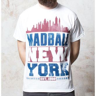 T-Shirt Madball - Skyline - White - BUCKANEER, Buckaneer, Madball