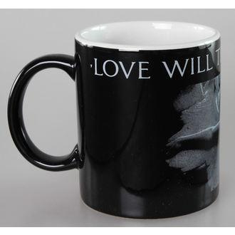 Keramiktasse Joy Division - Love Will Tear - Black - ROCK OFF, ROCK OFF, Joy Division