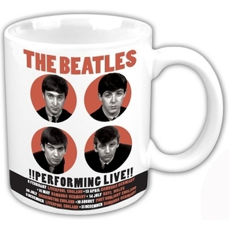 Keramiktasse The Beatles - Performing Live - ROCK OFF, ROCK OFF, Beatles