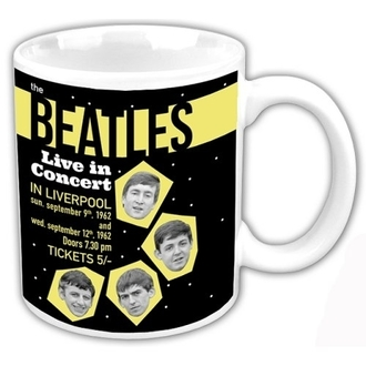 Keramiktasse The Beatles - Live In Concert - ROCK OFF, ROCK OFF, Beatles