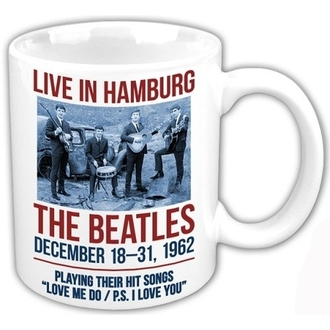 Keramiktasse The Beatles - Hamburg - ROCK OFF, ROCK OFF, Beatles