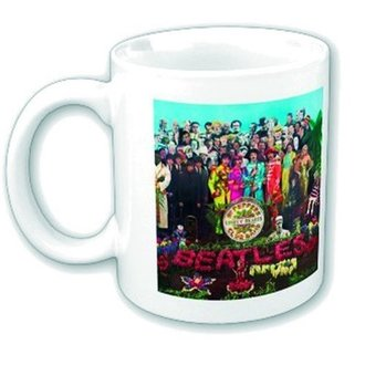 Keramiktasse The Beatles - Sgt Pepper - ROCK OFF, ROCK OFF, Beatles