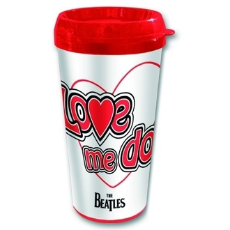 Keramiktasse Thermo The Beatles - Love Me Do - ROCK OFF, ROCK OFF, Beatles