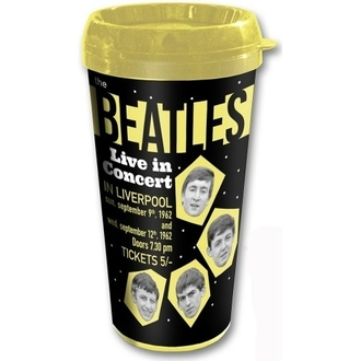 Keramiktasse Thermo - The Beatles - Drop T - ROCK OFF, ROCK OFF, Beatles