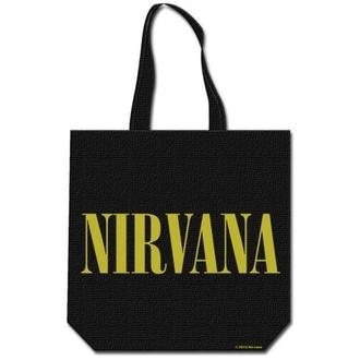 Einkaufstasche  Nirvana - Smiley & Logo - ROCK OFF, ROCK OFF, Nirvana