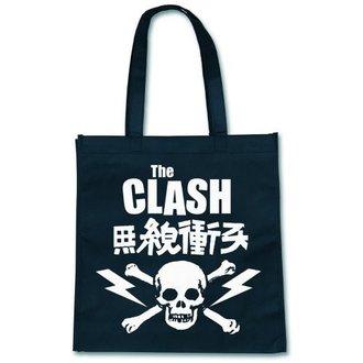 Einkaufstasche  The Clash - Skull - ROCK OFF, ROCK OFF, Clash