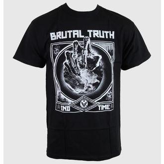 Herren T-Shirt Brutal Truth - End Time - RELAPSE, RELAPSE, Brutal Truth
