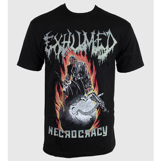 Herren T-Shirt Exhumed - Necrocracy - RELAPSE, RELAPSE, Exhumed