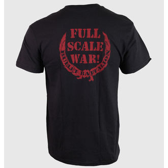 Herren T-Shirt Hail Of Bullets - Full Scale War - RELAPSE, RELAPSE, Hail Of Bullets