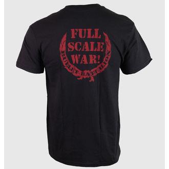 Herren T-Shirt Hail Of Bullets - Full Scale War - RELAPSE, RELAPSE, Hail Of Bullets