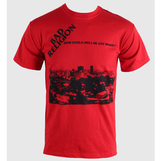 Herren T-Shirt   Bad Religion - How Could Hell - Red - KINGS ROAD, KINGS ROAD, Bad Religion