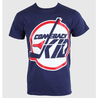 Herren T-Shirt   Comeback Kid - Jets - Blue Navy - KINGS ROAD, KINGS ROAD, Comeback Kid