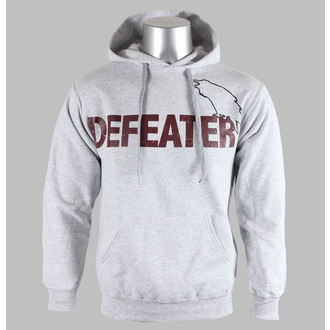 Herren Hoodie  Defeater - Bird - Heather Gray - KINGS ROAD, KINGS ROAD, Defeater