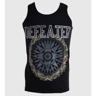 Herren Tanktop Defeater - Compass - Black - KINGS ROAD, KINGS ROAD, Defeater