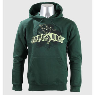 Herren Hoodie  Dropkick Murphys - Mohawk Skull - Green Bottle - KINGS ROAD, KINGS ROAD, Dropkick Murphys