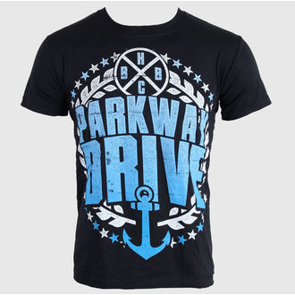 Herren T-Shirt   Parkway Drive - Anchor Bold - Black - KINGS ROAD, Buckaneer, Parkway Drive