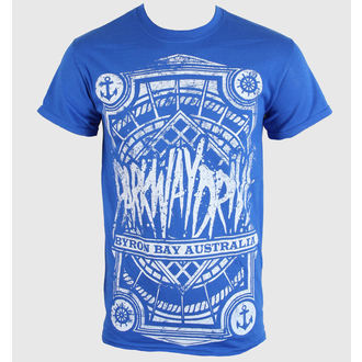 Herren T-Shirt   Parkway Drive - Byron Bay Royal - Blue Royal - KINGS ROAD, KINGS ROAD, Parkway Drive