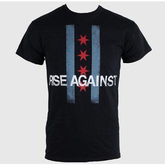 Herren T-Shirt   Rise Against - Flag - Black - KINGS ROAD, KINGS ROAD, Rise Against