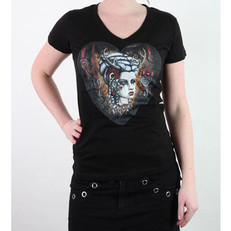 Damen T-Shirt  BLACK MARKET - Shane Of The Dead - Hunters Kiss - BM064