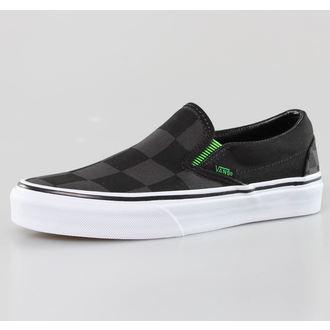 Schuhe VANS - Classic Slip-On (Captain Fin) - Check/Black, VANS