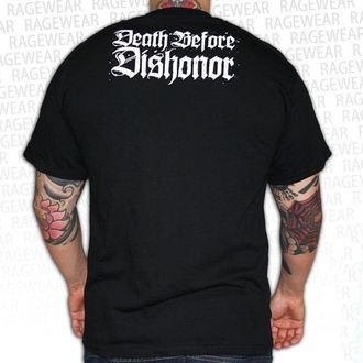 Herren T-Shirt Death Before Dishonor - Black Bats - Black, RAGEWEAR, Death Before Dishonor