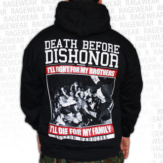 Herren Hoodie  Death Before Dishnor - Live Shot - Black - RAGEWEAR, RAGEWEAR, Death Before Dishonor