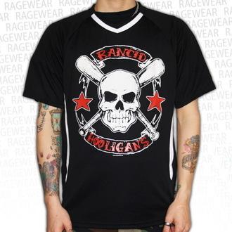 Herren T-Shirt (Trikot) Rancid - Hooligans Big Skull - Black - RAGEWEAR, RAGEWEAR, Rancid