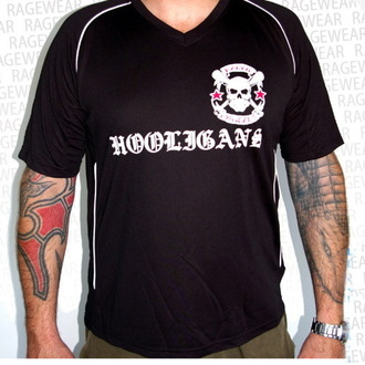 Herren T-Shirt (Trikot) Rancid - Hooligans - Black - RAGEWEAR, RAGEWEAR, Rancid