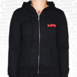 Damen Hoodie  Rancid - Wolves - Black - RAGEWEAR, RAGEWEAR, Rancid